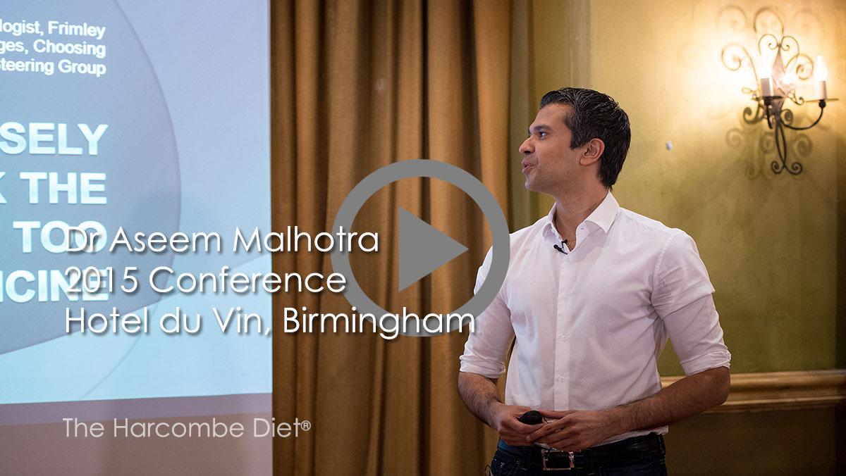 Dr Aseem Malhotra's presentation