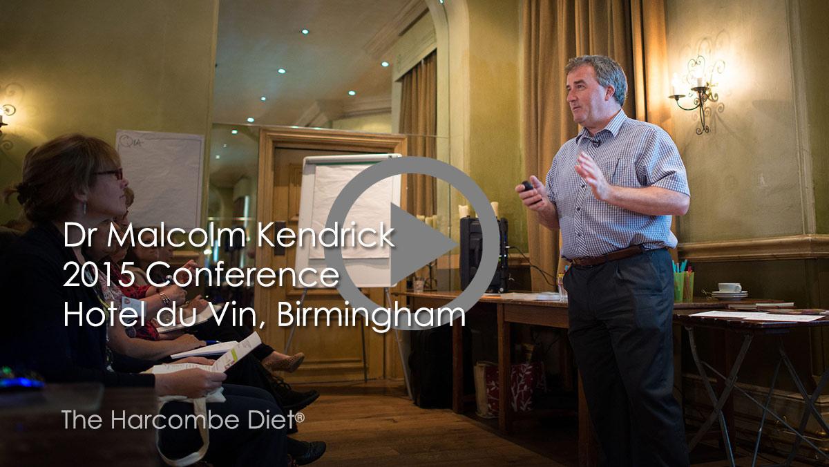 Dr Malcolm Kendrick's presentation
