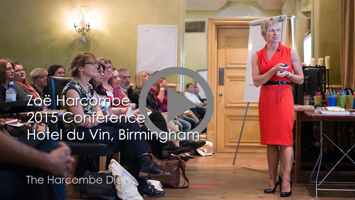 Zoe Harcombe's presentation