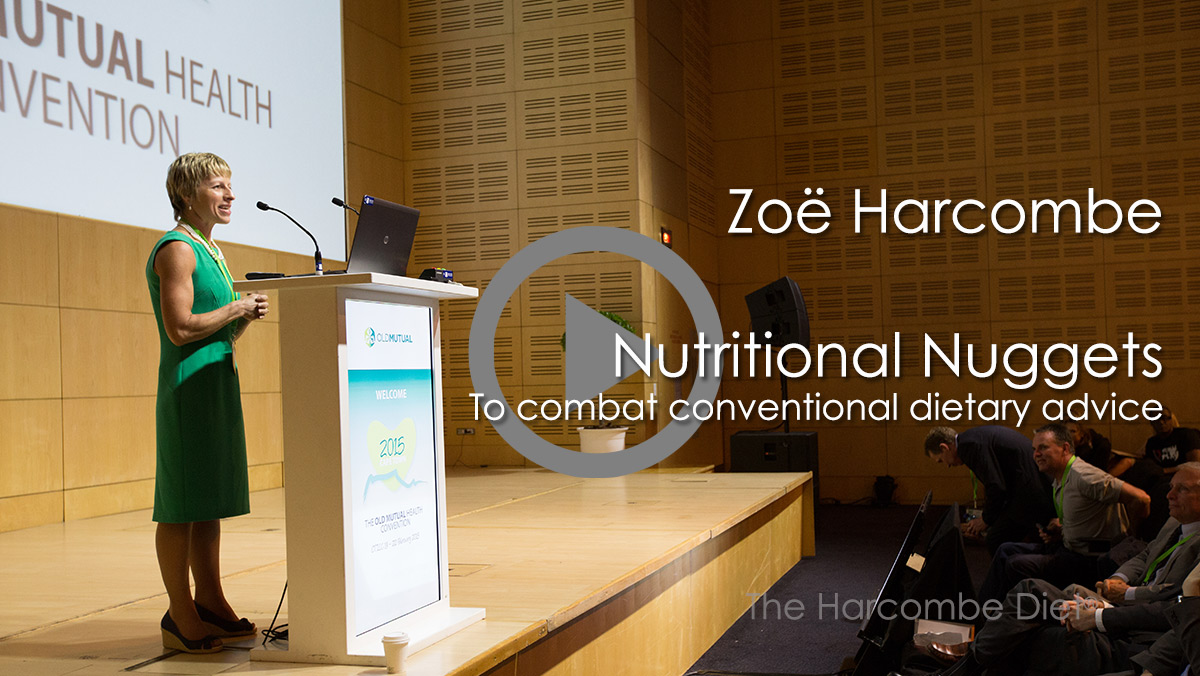 Zoe Harcombe second presentation - Membership required
